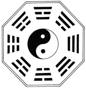 El I-Ching sobre un hexágono