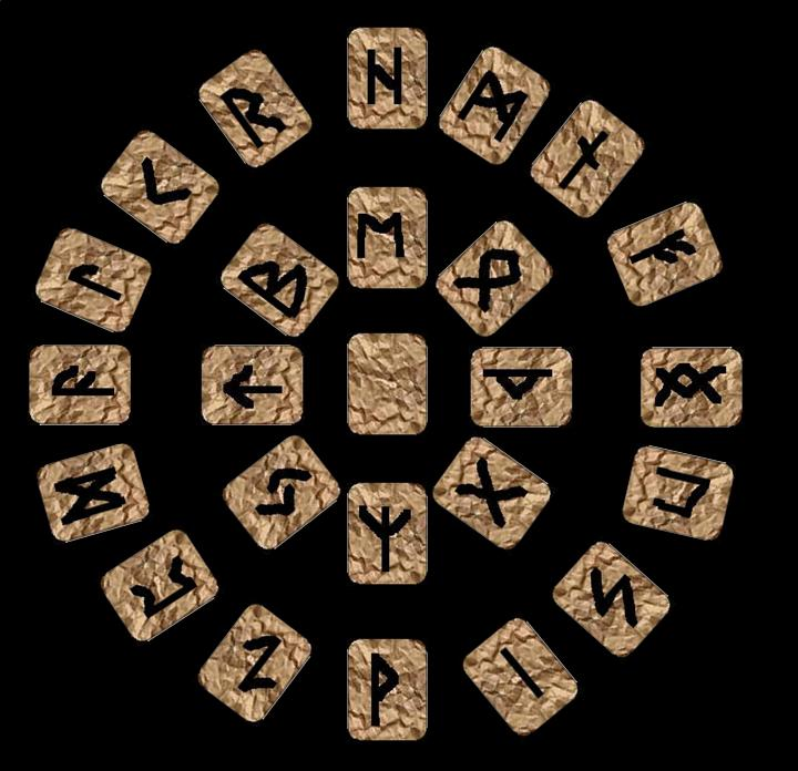 El cristianismo contra las runas
