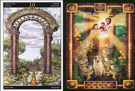 El tarot y las distintas cartas