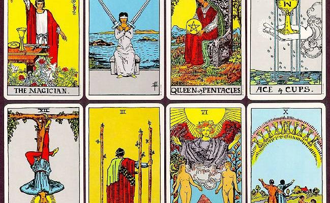 cuáles son las cartas del tarot
