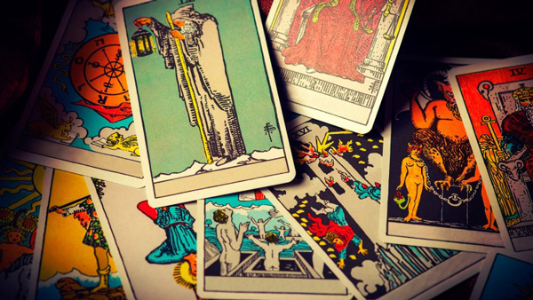 lectura de las cartas del tarot