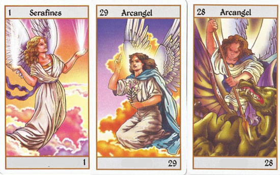 cartas tarot angeles